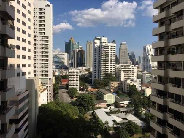 BKKMOVE Agency's 35sqm Good view! Good price! 1 bedroom 1 bathroom rent for Saranjai Mansion 6