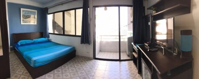 BKKMOVE Agency's 35sqm Good view! Good price! 1 bedroom 1 bathroom rent for Saranjai Mansion 5
