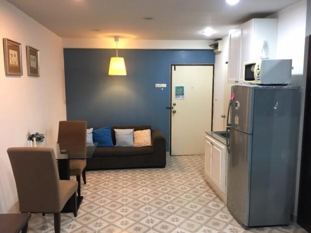 BKKMOVE Agency's 35sqm Good view! Good price! 1 bedroom 1 bathroom rent for Saranjai Mansion 4