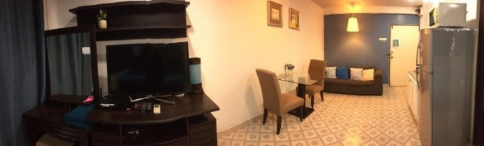 BKKMOVE Agency's 35sqm Good view! Good price! 1 bedroom 1 bathroom rent for Saranjai Mansion 3