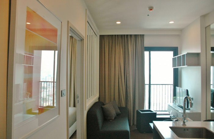 BKKMOVE Agency's 30sqm Well price!! Cozy Convenient High floor One bedroom for rent at WYNE Sukhumvit 12