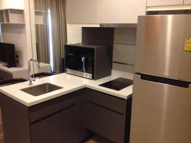 BKKMOVE Agency's 30sqm Well price!! Cozy Convenient High floor One bedroom for rent at WYNE Sukhumvit 8