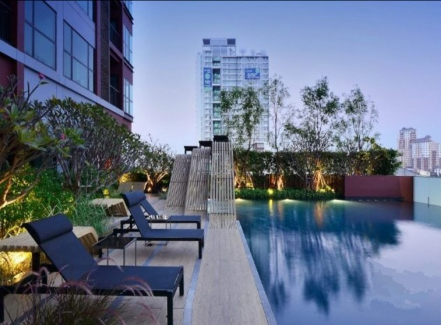 BKKMOVE Agency's 30sqm Well price!! Cozy Convenient High floor One bedroom for rent at WYNE Sukhumvit 1