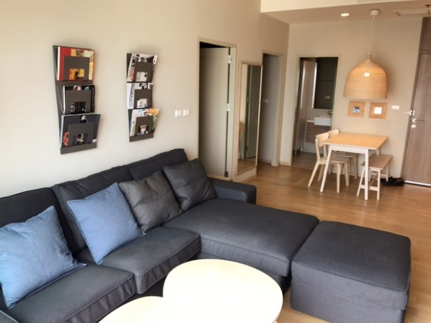 BKKMOVE Agency's 69sqm Good price!! Spacious Convenient high floor 2bedroom 2bathroom for rent at Noble Reveal 4