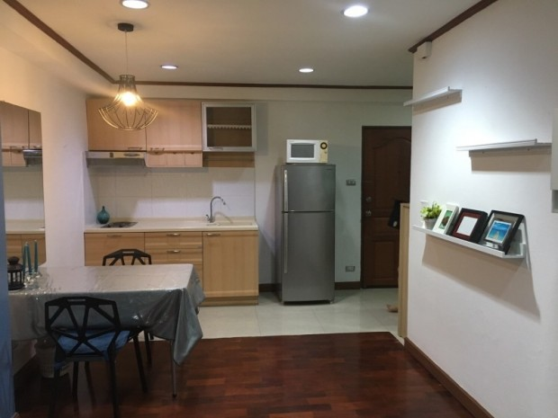 BKKMOVE Agency's 60sqm Well price!! Spacious Convenient 1bedroom 1bathroom for rent at Saranjai Mansion 9