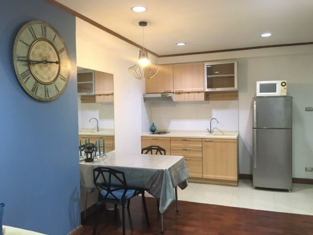 BKKMOVE Agency's 60sqm Well price!! Spacious Convenient 1bedroom 1bathroom for rent at Saranjai Mansion 8