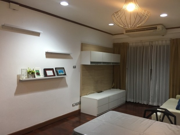 BKKMOVE Agency's 60sqm Well price!! Spacious Convenient 1bedroom 1bathroom for rent at Saranjai Mansion 7