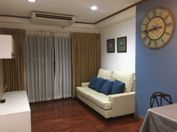 BKKMOVE Agency's 60sqm Well price!! Spacious Convenient 1bedroom 1bathroom for rent at Saranjai Mansion 5