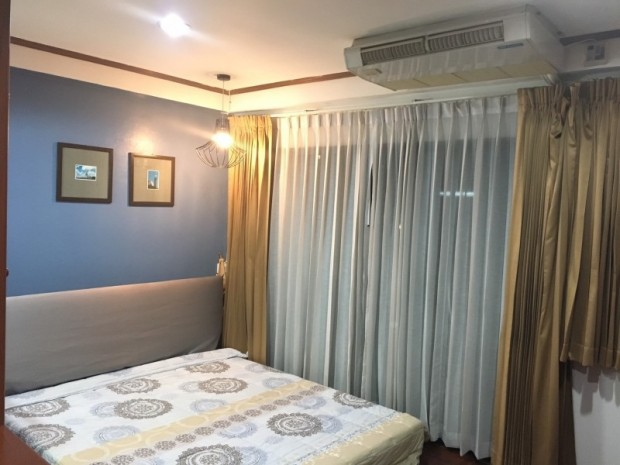 BKKMOVE Agency's 60sqm Well price!! Spacious Convenient 1bedroom 1bathroom for rent at Saranjai Mansion 4