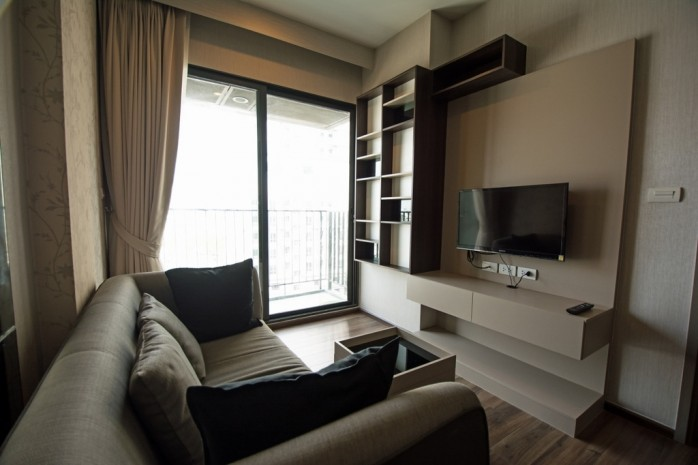 BKKMOVE Agency's 34.5sqm Good price!! Cozy Convenient 1bedroom 1bathroom for rent at TEAL Sathorn-Taksin 9