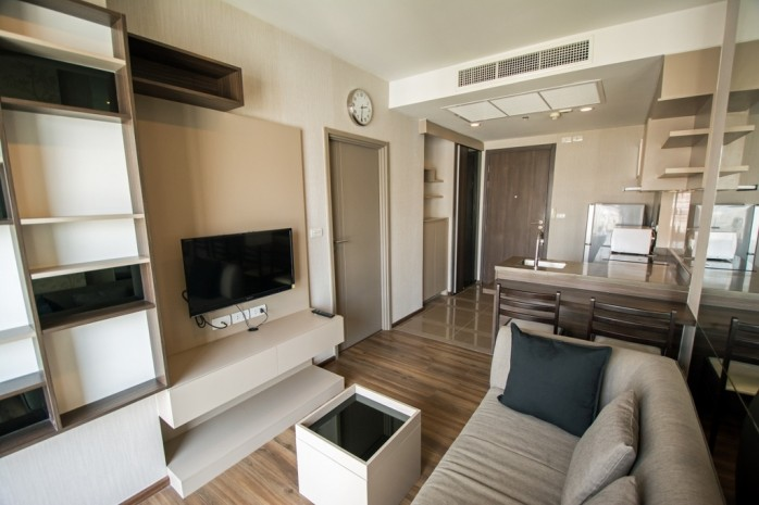 BKKMOVE Agency's 34.5sqm Good price!! Cozy Convenient 1bedroom 1bathroom for rent at TEAL Sathorn-Taksin 8