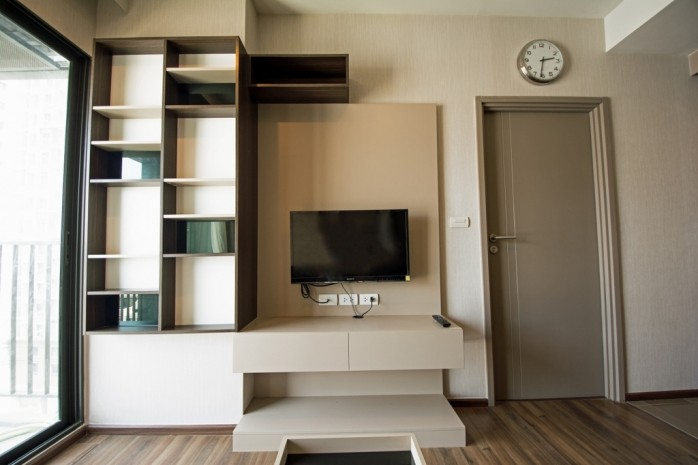 BKKMOVE Agency's 34.5sqm Good price!! Cozy Convenient 1bedroom 1bathroom for rent at TEAL Sathorn-Taksin 7
