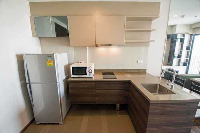 BKKMOVE Agency's 34.5sqm Good price!! Cozy Convenient 1bedroom 1bathroom for rent at TEAL Sathorn-Taksin 6