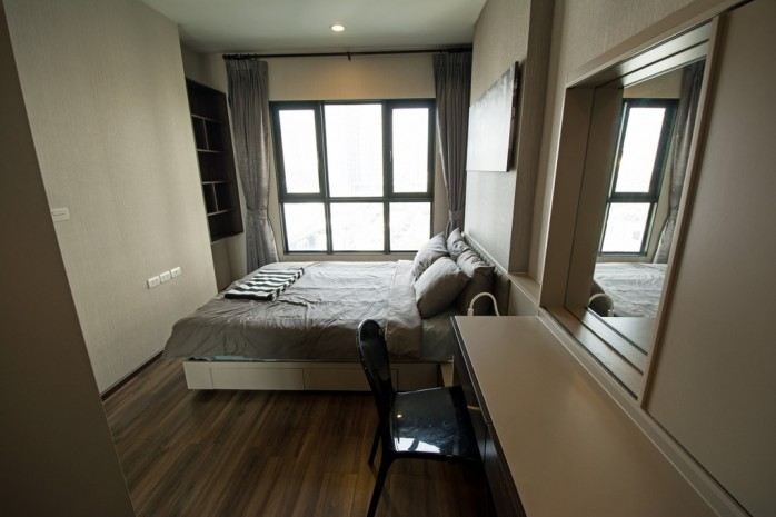 BKKMOVE Agency's 34.5sqm Good price!! Cozy Convenient 1bedroom 1bathroom for rent at TEAL Sathorn-Taksin 2