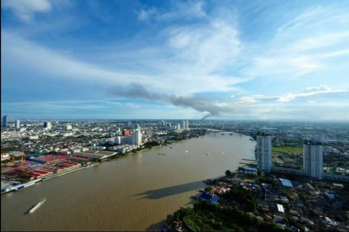 BKKMOVE Agency's Watermark Chaophraya River Condo ,River view High floor 145 sqm 2 bedroom 2 bathroom 1 maid  for sale/rent Well price!! 7