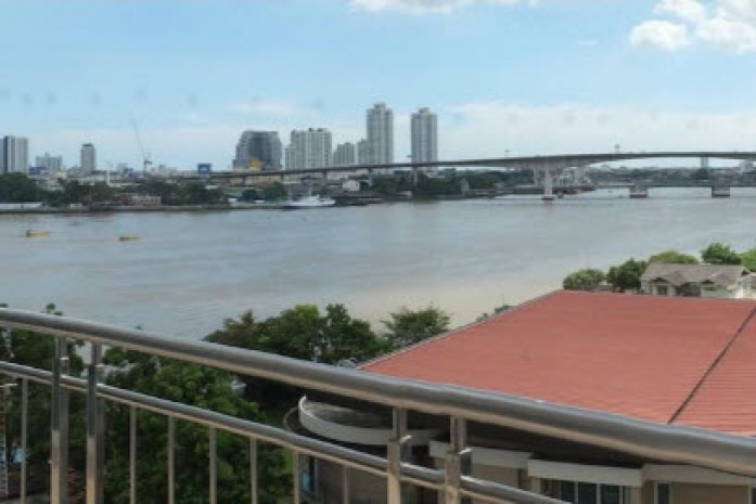 BKKMOVE Agency's Supalai River Resort Cozy convenient river view 88sqm 2 Bedroom 2 Bathroom for rent Good price!! 19
