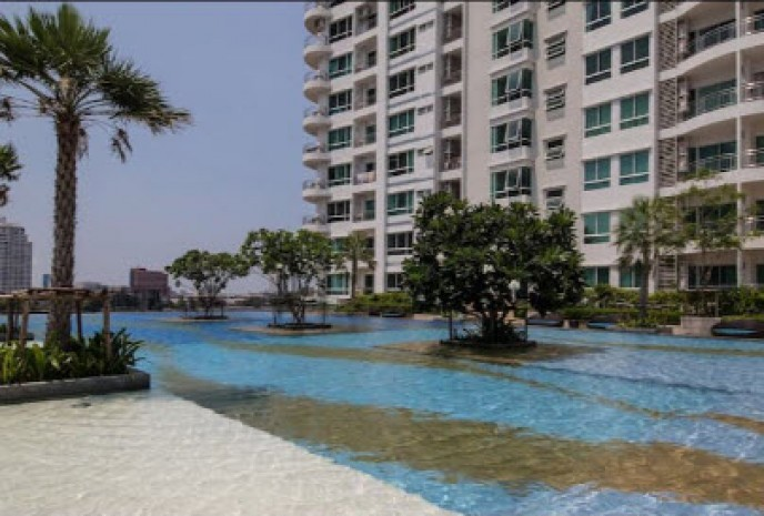 BKKMOVE Agency's Supalai River Resort Cozy convenient river view 88sqm 2 Bedroom 2 Bathroom for rent Good price!! 5