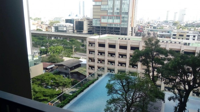 BKKMOVE Agency's Nye by Sansiri Condo ,Low floor, 31sqm 1 bedroom 1 bathroom Full furnished for Rent Well price!! 9