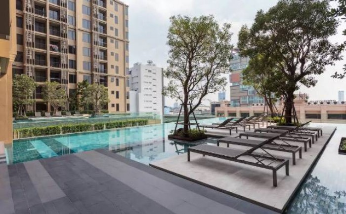 BKKMOVE Agency's Nye by Sansiri Condo ,Low floor, 31sqm 1 bedroom 1 bathroom Full furnished for Rent Well price!! 6