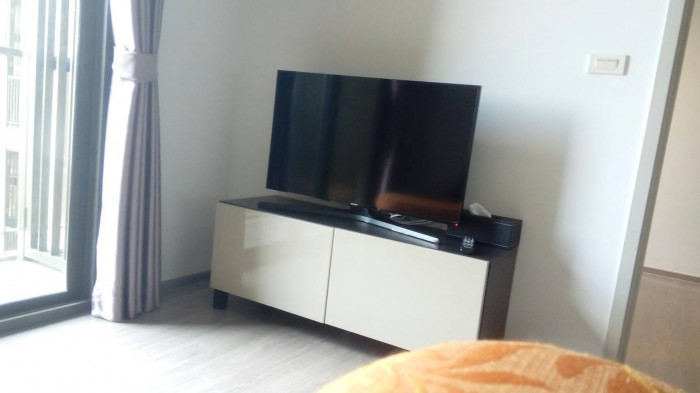 BKKMOVE Agency's Nye by Sansiri Condo ,Low floor, 31sqm 1 bedroom 1 bathroom Full furnished for Rent Well price!! 2