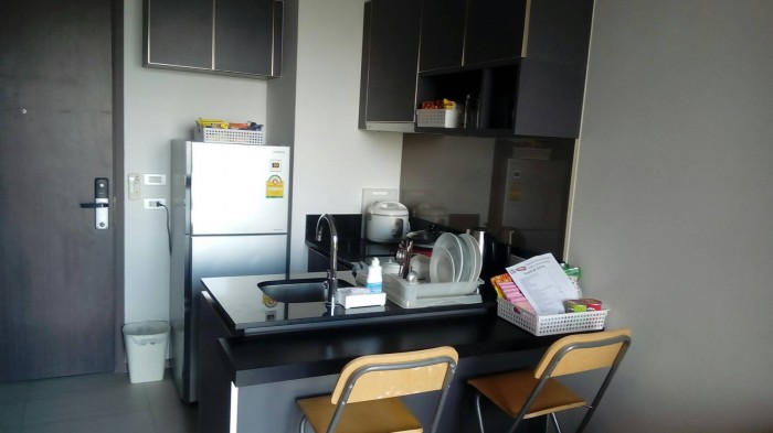 BKKMOVE Agency's Nye by Sansiri Condo ,Low floor, 31sqm 1 bedroom 1 bathroom Full furnished for Rent Well price!! 10