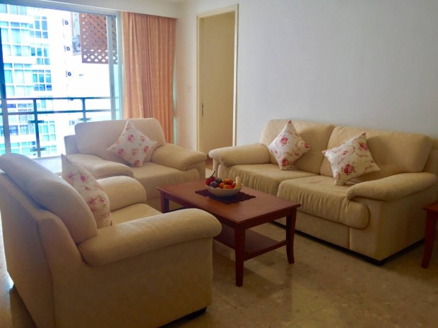 BKKMOVE Agency's Nusasiri Ekamai Spacious convenient Fully furnished 3bed 2bath 113sqm for rent Well price! 2