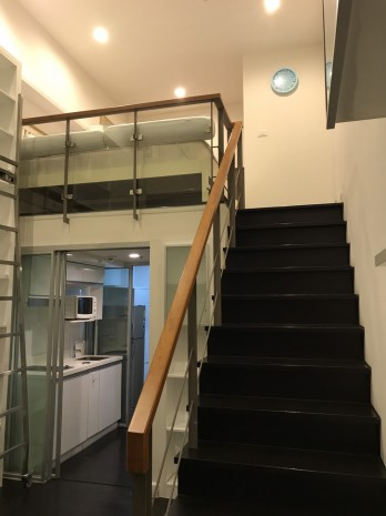 BKKMOVE Agency's Ashton Morph 38 33.66sqm convenient Duplex room  for rent Good price!! 5