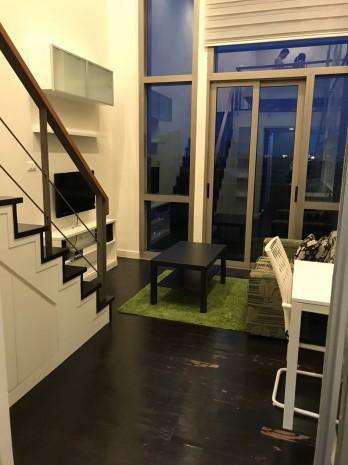 BKKMOVE Agency's Ashton Morph 38 33.66sqm convenient Duplex room  for rent Good price!! 8