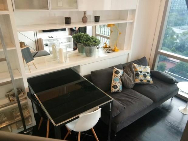 BKKMOVE Agency's Ashton Morph 38 Sukhumvit 38 Corner View Thonglor Beautiful room For Rent 30,000 a month 3