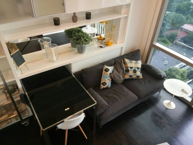 BKKMOVE Agency's Ashton Morph 38 Sukhumvit 38 Corner View Thonglor Beautiful room For Rent 30,000 a month 5