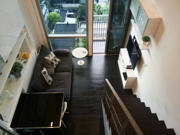BKKMOVE Agency's Ashton Morph 38 Sukhumvit 38 Corner View Thonglor Beautiful room For Rent 30,000 a month 1