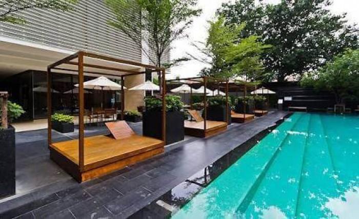 BKKMOVE Agency's The Emporio Place - Sukhumvit 24 Luxury 1 bed 1 bath Duplex 73 sqm Unblock View, High-end Location, building and Decoration. Rare Item. 1
