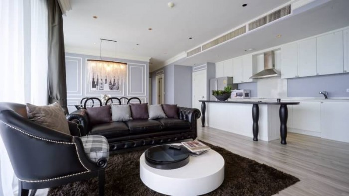 BKKMOVE Agency's The Emporio Place Luxury Penthouse Sukhumvit 24, top floor 3 beds/4 bath 170sqm(2 master bedrooms with bathtab come with his & her washbasin and walkin closet) 8
