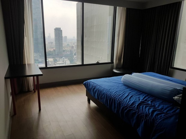 BKKMOVE Agency's M Silom  95 sqm. for rent  2 bed 2 bath Mahanakorn view  fully furnished 4
