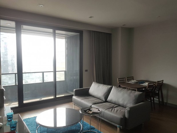 BKKMOVE Agency's M Silom  95 sqm. for rent  2 bed 2 bath Mahanakorn view  fully furnished 7