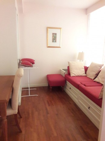 BKKMOVE Agency's Langsuan Ville Condo fully furnished ready to move in 93sqm 1+1 bed 1 bath for rent well price! 1