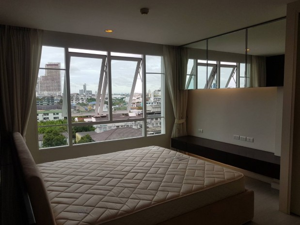 BKKMOVE Agency's The Bangkok Sathon  fully furnished ready to move in 72sqm 2 bed 2 bath for rent well price! 2