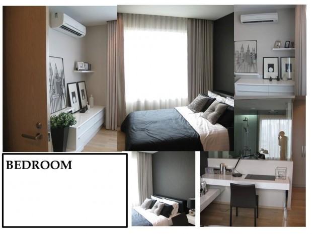 BKKMOVE Agency's 52sqm. Stylish, Luxury 1 bedroom condo for rent at Siri @ sukhumvit 3