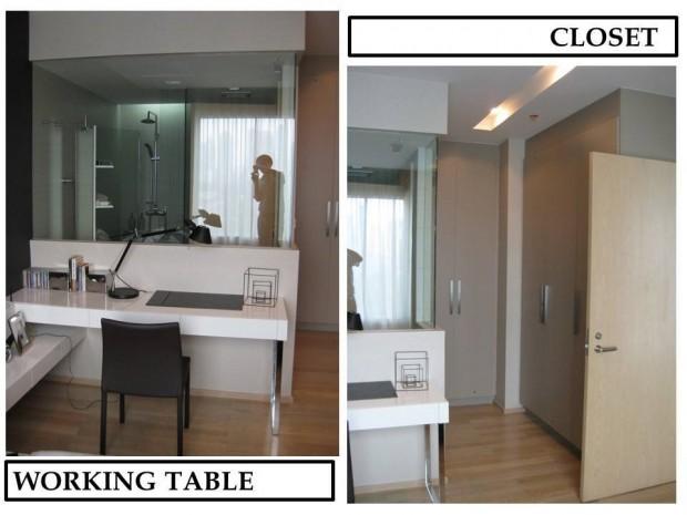 BKKMOVE Agency's 52sqm. Stylish, Luxury 1 bedroom condo for rent at Siri @ sukhumvit 1