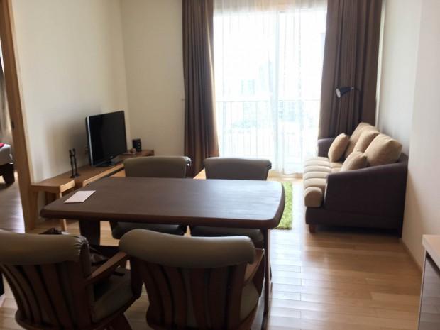 BKKMOVE Agency's 51sqm. Stylish, Luxury 1 bedroom condo for rent at Siri @ sukhumvit 3