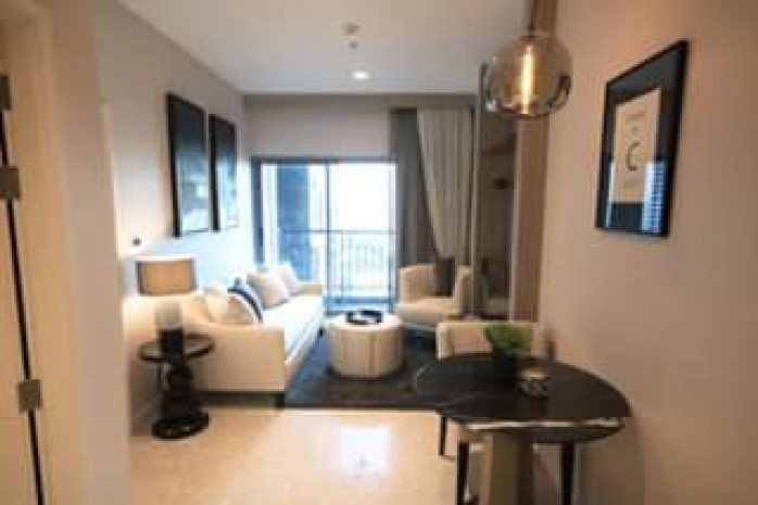 BKKMOVE Agency's The Crest Sukhumvit 34 Convenient Beautiful fully furnished mid floor 45.59 sqm 1 bedroom 1 bathroom for rent/sale well price!! 7