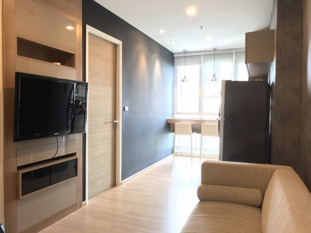 BKKMOVE Agency's Rhythm Sukhumvit 50 35.17sqm. 1 bedroom 1 bathroom ready to move in fullly furnished north view for rent! 4