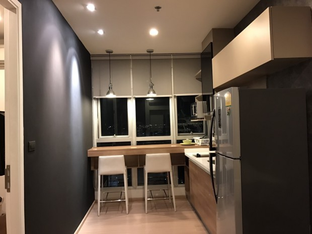 BKKMOVE Agency's Rhythm Sukhumvit 50 35.17sqm. 1 bedroom 1 bathroom ready to move in fullly furnished north view for rent! 1