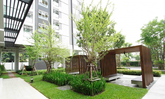 BKKMOVE Agency's Condo for rent near BTS Ekkamai,high floor with Clear view,Fully furnish,ready to Move in 5