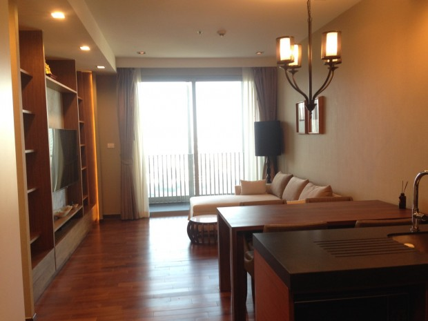 BKKMOVE Agency's Ashton morph38 58sqm 2 bed 2 bath fully furnished Ready to move in for rent!! 1