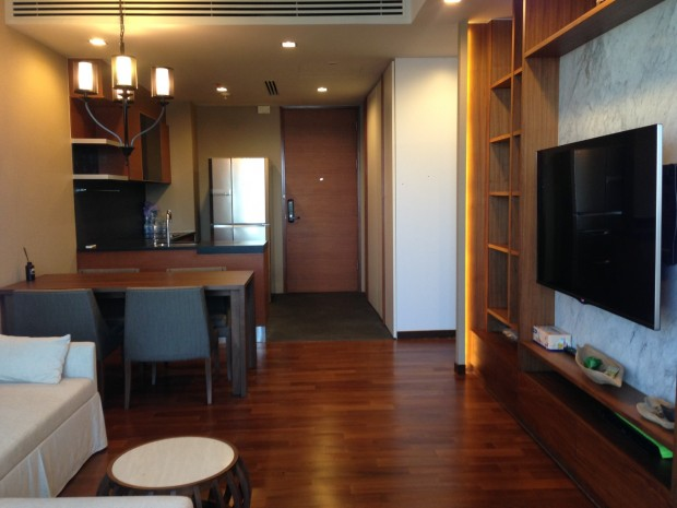 BKKMOVE Agency's Ashton morph38 58sqm 2 bed 2 bath fully furnished Ready to move in for rent!! 3