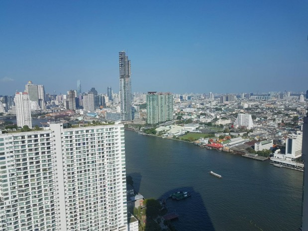 BKKMOVE Agency's Watermark Chaophraya River Condo ,River view middle floor 145 sqm 3 bedroom 3 bathroom 1 maidroom for sale !! 6