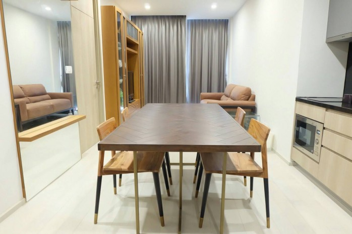 BKKMOVE Agency's Noble Ploenchit Spacious Convenient Beautiful fully furnished 75.45 sqm  2 bedroom 2 bathroom ready to move in for rent well price!! 4