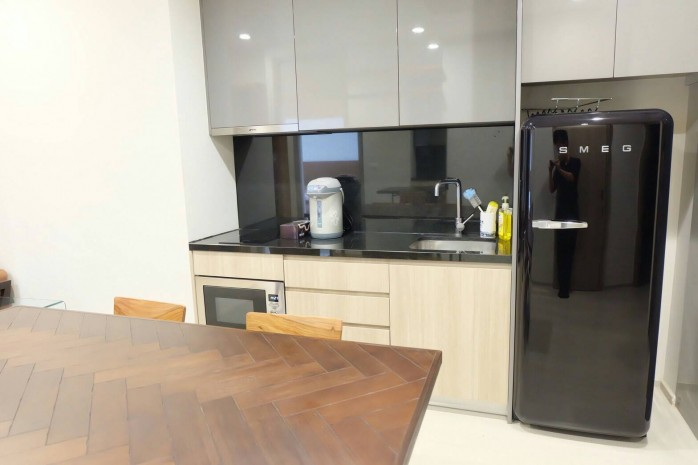 BKKMOVE Agency's Noble Ploenchit Spacious Convenient Beautiful fully furnished 75.45 sqm  2 bedroom 2 bathroom ready to move in for rent well price!! 2
