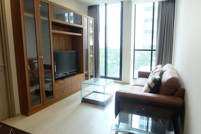 BKKMOVE Agency's Noble Ploenchit Spacious Convenient Beautiful fully furnished 75.45 sqm  2 bedroom 2 bathroom ready to move in for rent well price!! 7